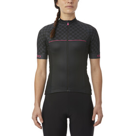 Giro Chrono Sport Jersey Women black checks